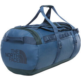 The North Face Base Camp Duffel M, blue wing teal/urban navy